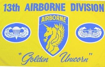 Fahne 13th Airborne Division 90 x 150 cm