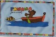 Stockflagge Bär im Boot 30 x 45 cm