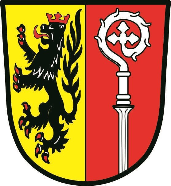 Aufkleber Abenberg Wappen