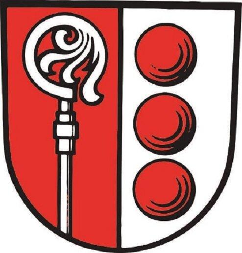 Aufkleber Abtsgemünd Wappen
