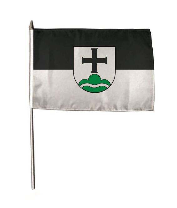 Stockflagge Achberg 30 x 45 cm