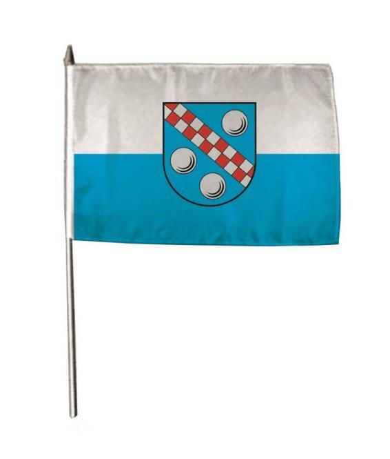 Stockflagge Achstetten 30 x 45 cm