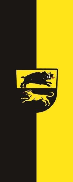 Flagge Adelberg im Hochformat