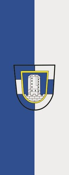 Flagge Adelebsen im Hochformat
