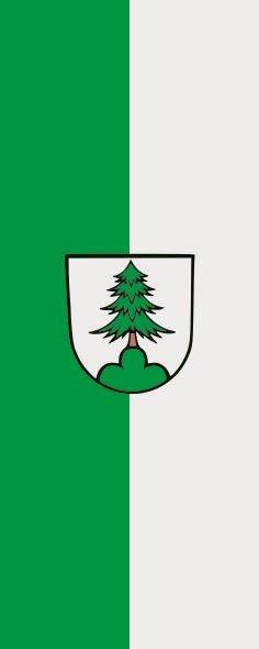 Flagge Adelmannsfelden im Hochformat