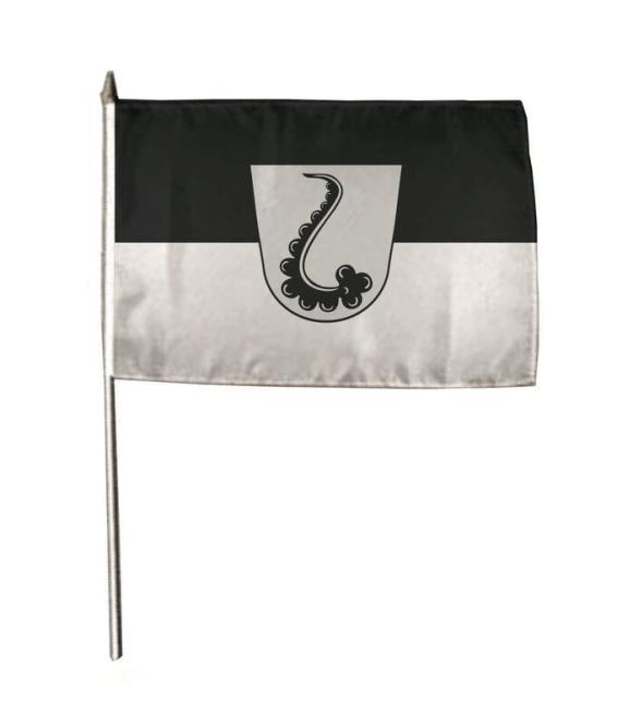 Stockflagge Adelsheim 30 x 45 cm
