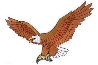 Aufnäher Adler Motiv 2