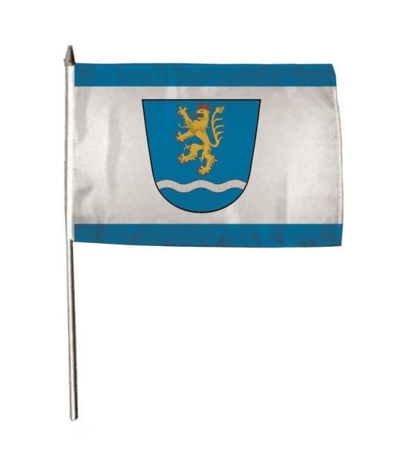 Stockflagge Aerzen 30 x 45 cm