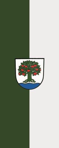Flagge Affalterbach im Hochformat