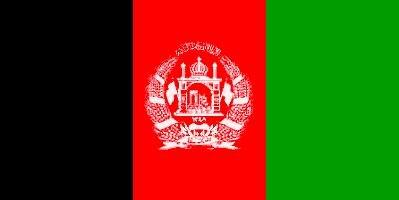Fahne Afghanistan 30 x 45 cm