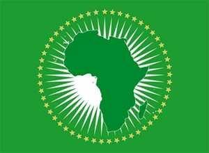 Fahne Afrikanische Union 90 x 150 cm