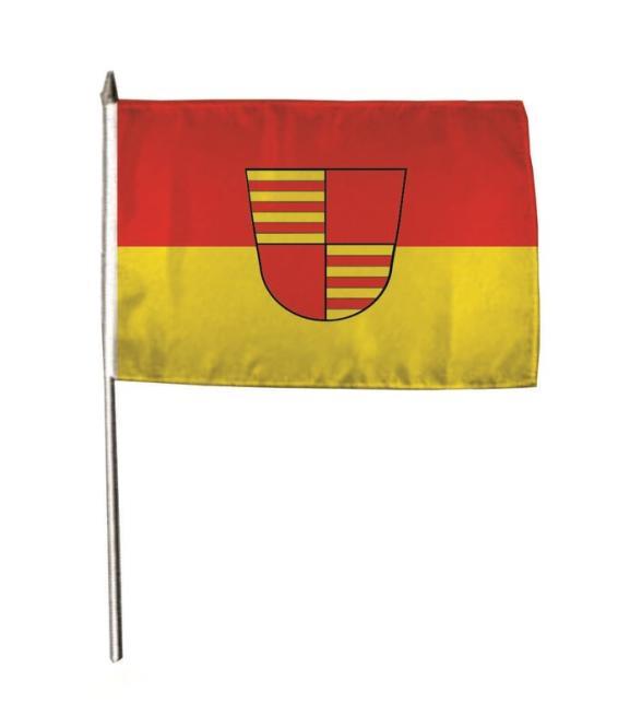 Stockflagge Ahaus 30 x 45 cm