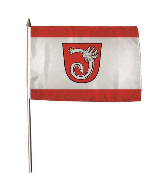 Stockflagge Ahlen 30 x 45 cm