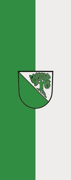Flagge Aichhalden im Hochformat
