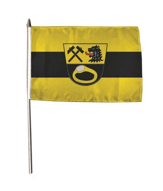 Stockflagge Ainring 30 x 45 cm