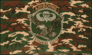 Fahne Airborne Screaming Eagles 90 x 150 cm