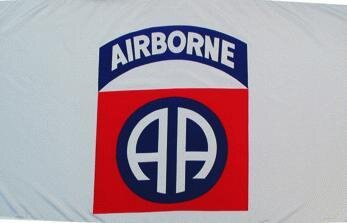 Fahne Airborne 90 x 150 cm