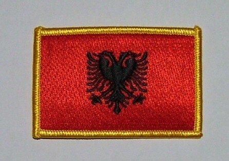 Aufnäher Albanien