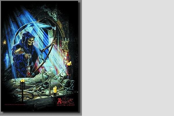 Posterflagge Alchemy Noetic Crypt 105 x 75 cm