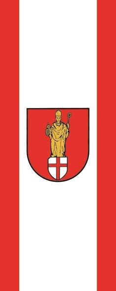 Flagge Alf ( Eifel ) im Hochformat