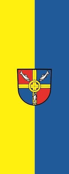 Flagge Allensbach im Hochformat
