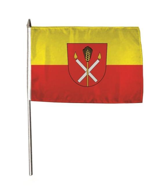 Stockflagge Alleshausen 30 x 45 cm