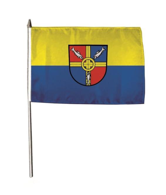 Stockflagge Allensbach 30 x 45 cm