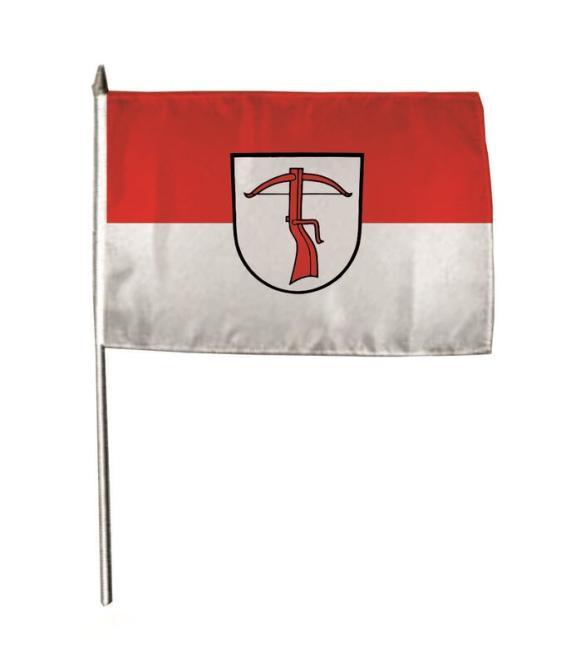 Stockflagge Allmersbach im Tal 30 x 45 cm