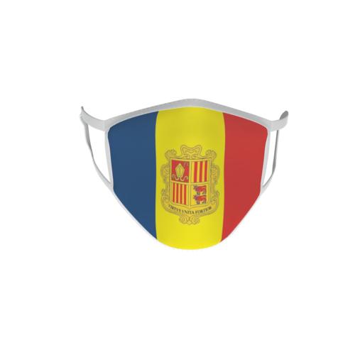 Gesichtsmaske Behelfsmaske Mundschutz Andorra