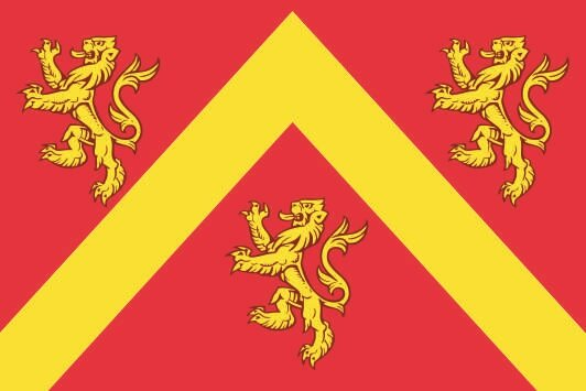 Flagge Anglesey