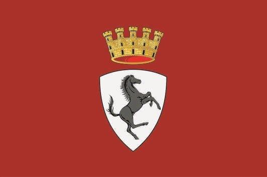 Flagge Arezzo Stadt
