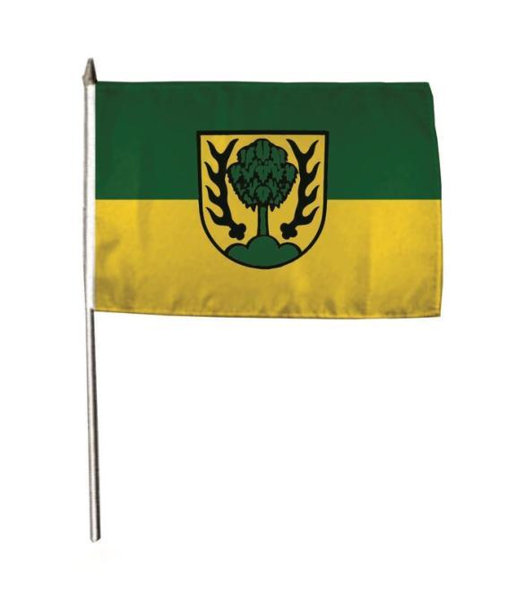 Stockflagge Asperg 30 x 45 cm