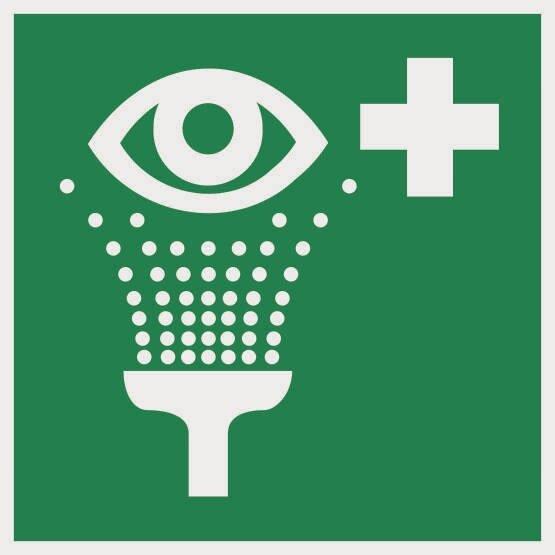 Aufkleber Rettungszeichen Augenspüleinrichtung E011