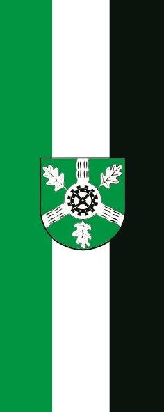 Flagge Aumühle im Hochformat