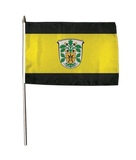 Stockflagge Bad Arolsen 30 x 45 cm