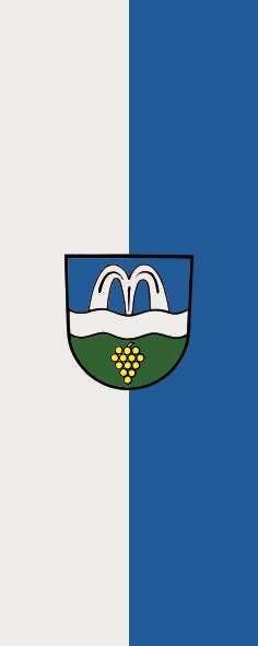 Flagge Bad Bellingen im Hochformat