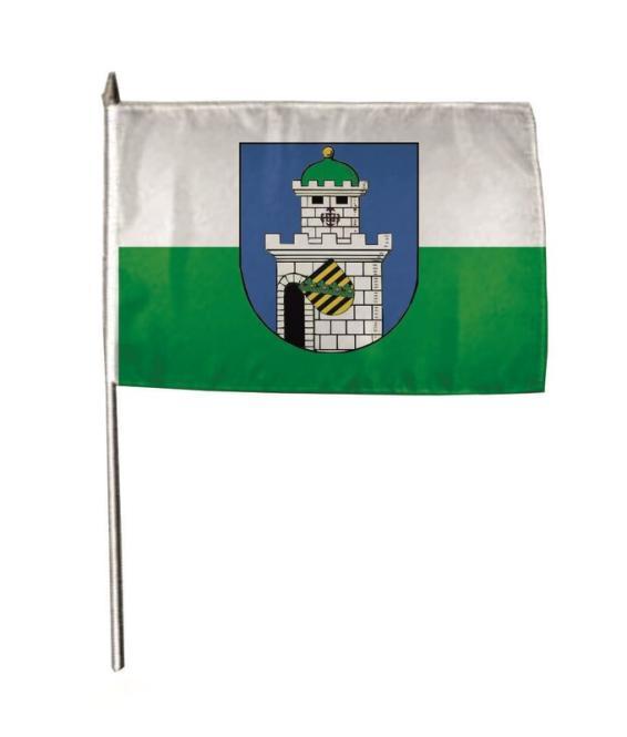 Stockflagge Bad Belzig 30 x 45 cm