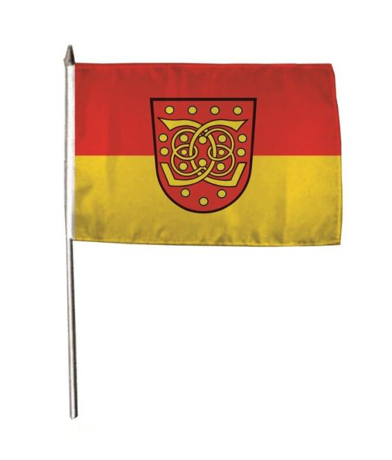 Stockflagge Bad Bentheim 30 x 45 cm