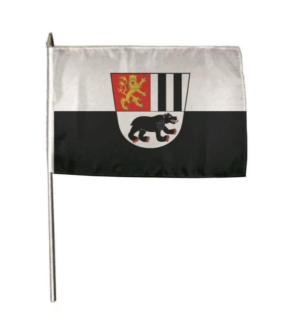 Stockflagge Bad Berleburg 30 x 45 cm