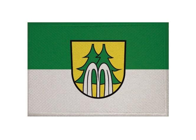 Aufnäher Patch Bad Wildbad 9 x 6 cm