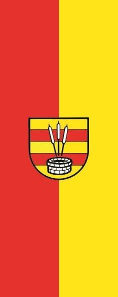 Flagge Bad Zwischenahn im Hochformat