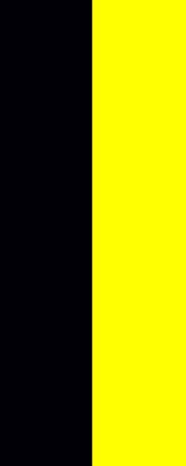 Flagge Baden-Württemberg ohne Wappen im Hochformat