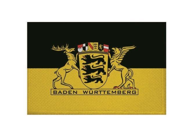Aufnäher Patch Baden - Württemberg mit großem Landessiegel 9 x 6 cm