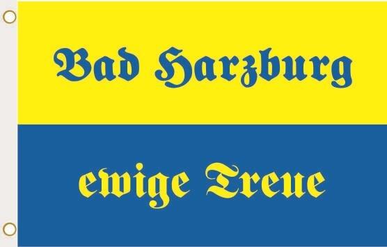 Fahne Bad Harzburg ewige Treue 90 x 150 cm
