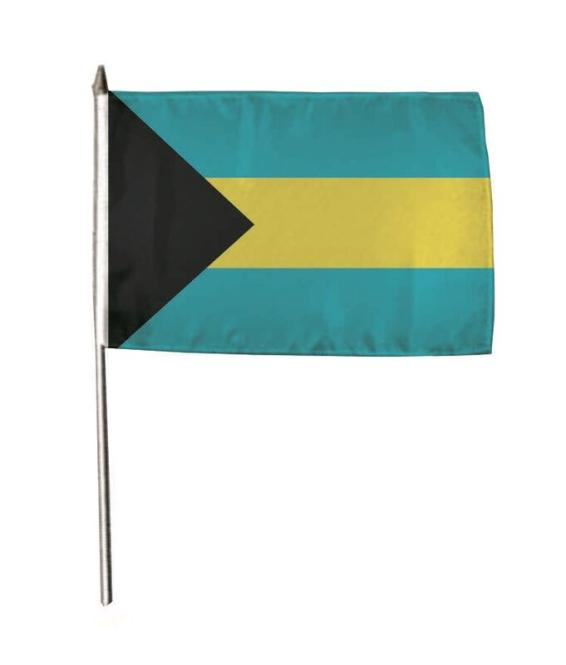 Stockflagge Bahamas 30 x 45 cm