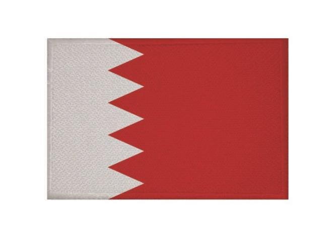 Aufnäher Bahrain Patch 9 x 6 cm
