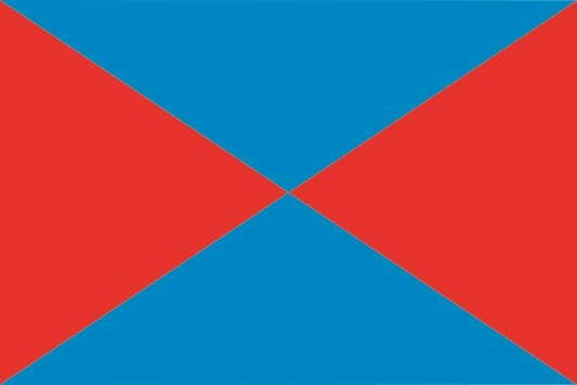 Flagge Baiona Stadt