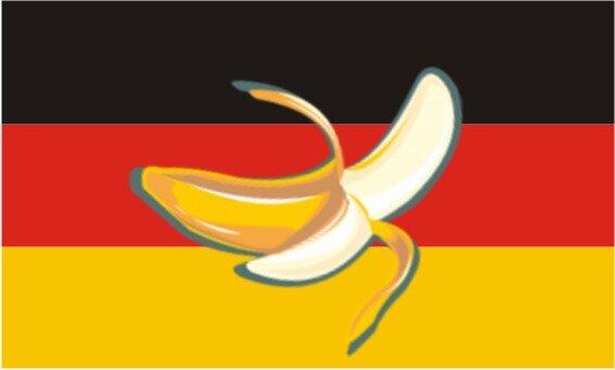 Aufkleber Bananenrepublik