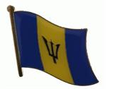 Pin Barbados 20 x 17 mm
