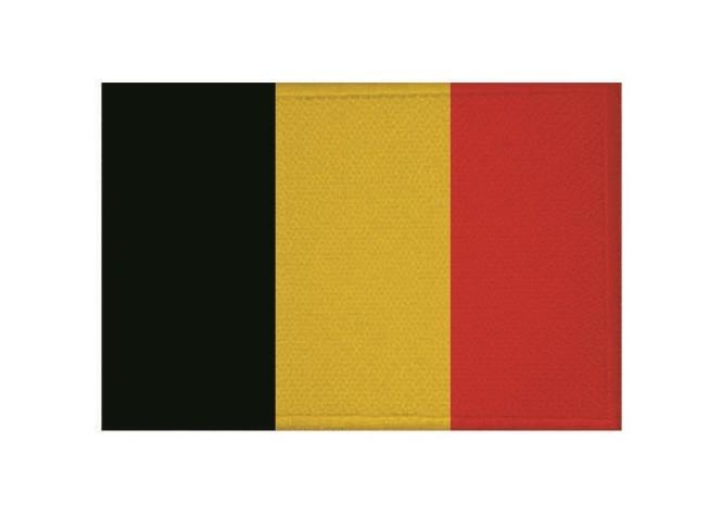 Aufnäher Patch Belgien 9 x 6 cm